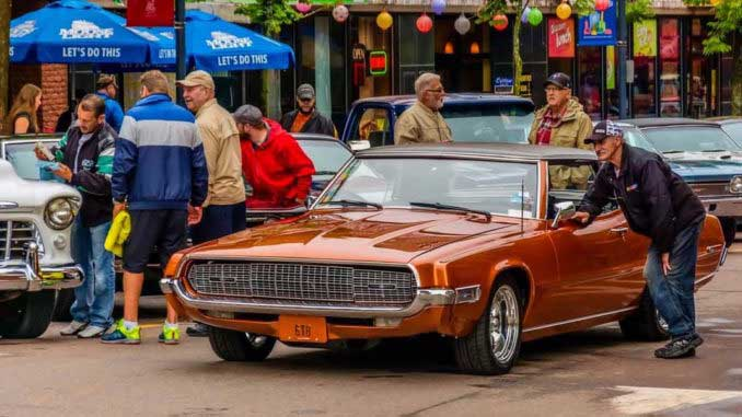Steve Tanners TBird is March's Car of the Month