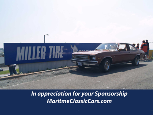 Miller Tire Sponsorship Plaque
